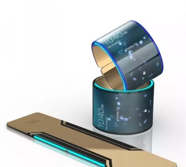 三星曲面屏都跪了!全球首款可穿戴手机登场  第2张