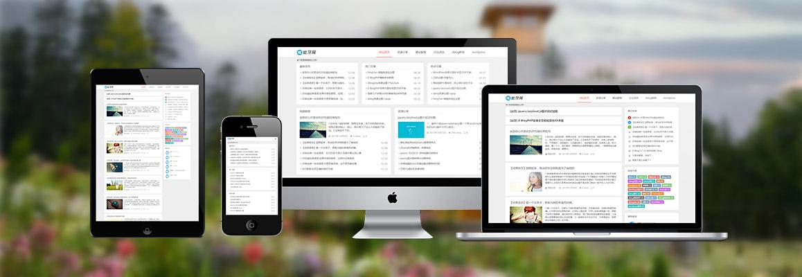Z-Blog响应式主题-多功能CMS/博客模板  第1张