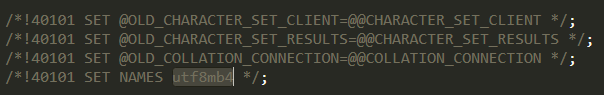 ZBlog导入数据库提示unknown character set 'utf8mb4'的原因及解决方案  第2张