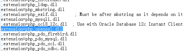 PHP开启openssl的方法-解决ZBlog主题插件无法启用的问题